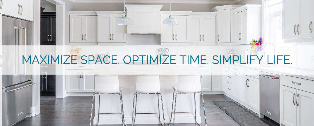 MAXiMIZE SPACE. OPTIMIZE TIME. SIMPLIFY LIFE. 2 - Home