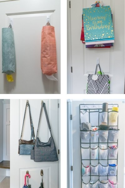 25 WAYS TO ORGANIZE WITH COMMAND HOOKS Image 10a - ORGANIZING FAVOURITES: 25 WAYS TO ORGANIZE WITH COMMAND HOOKS