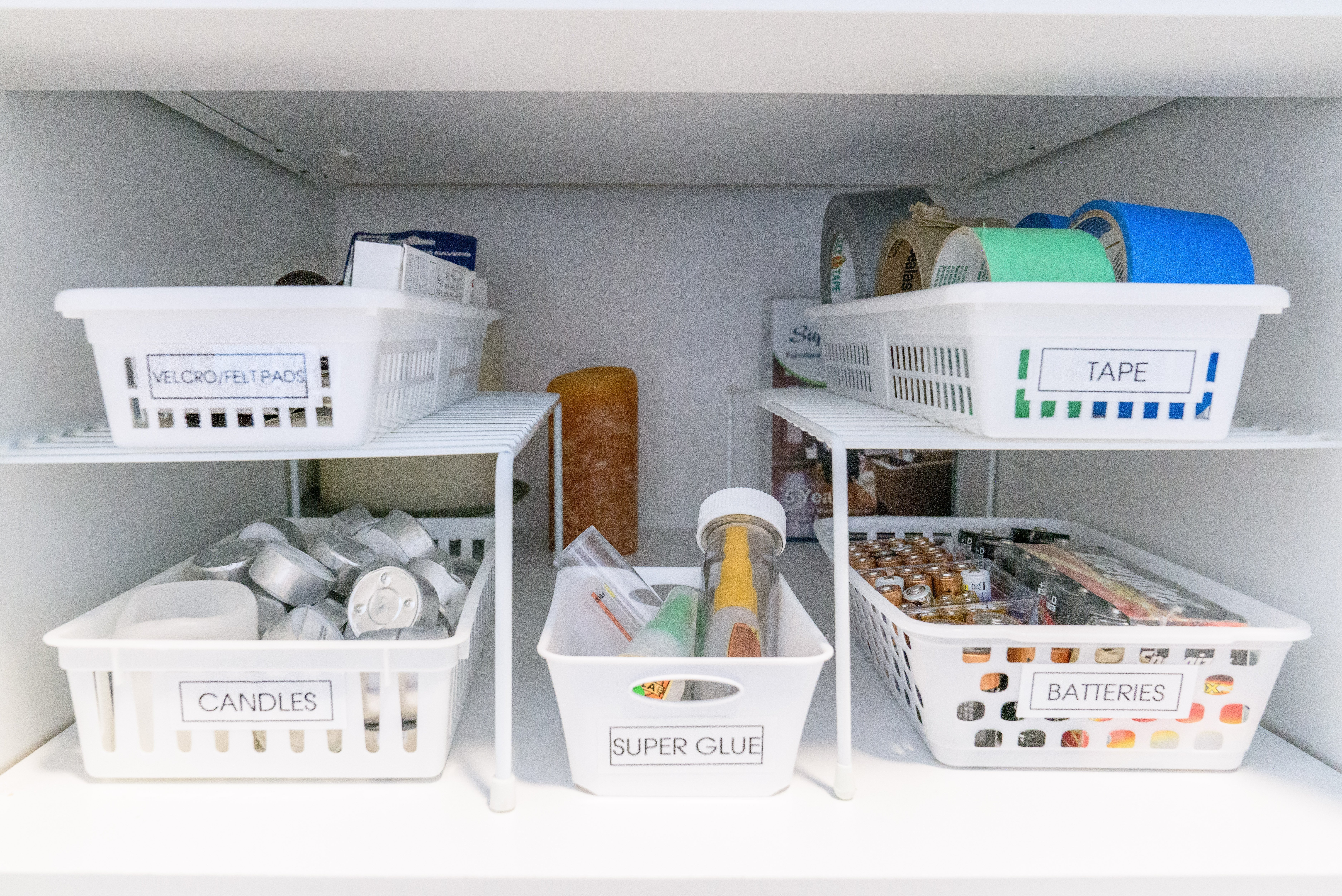 5 2under sink labels - 10 Budget Home Organizing Products Under $20.00