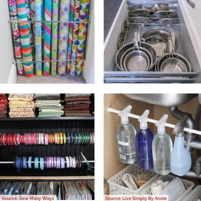 7Tension Rods Final - 10 Budget Home Organizing Products Under $20.00
