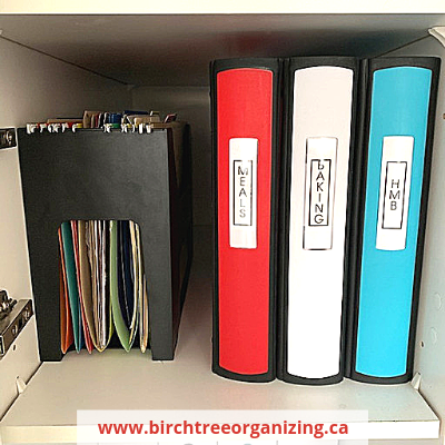 Binder in cabniet canva - Organize Your Busy Family With A Home Command Centre