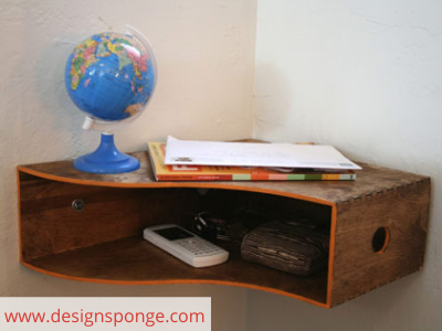 Canva shelf - ORGANIZING FAVOURITES: 20 WAYS TO ORGANIZE WITH MAGAZINE HOLDERS