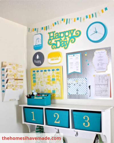 Image 01 - Organize Your Busy Family With A Home Command Centre