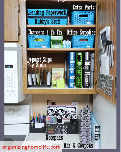 Image 03 Organizing Home Life - Organize Your Busy Family With A Home Command Centre