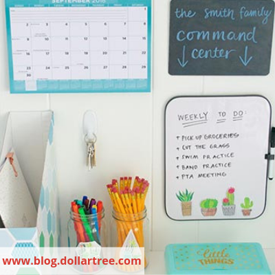 Image 11 DollarTree - Organize Your Busy Family With A Home Command Centre