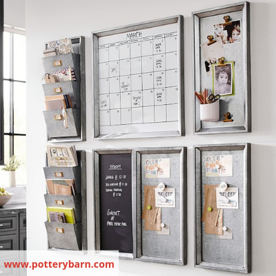 Image 12 Pottery Barn - Organize Your Busy Family With A Home Command Centre