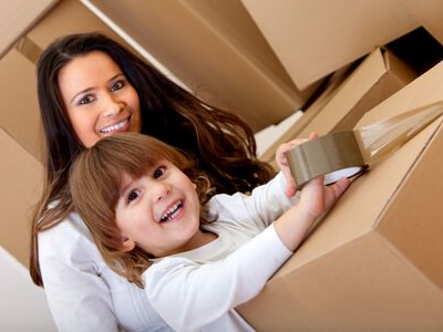 child packing - 15 Tips To Make Moving With Kids Easier