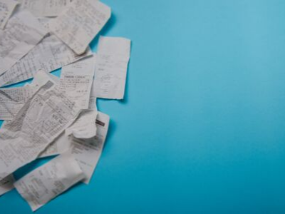 Receipts - 10 Things To Do NOW To Prepare For The Holidays