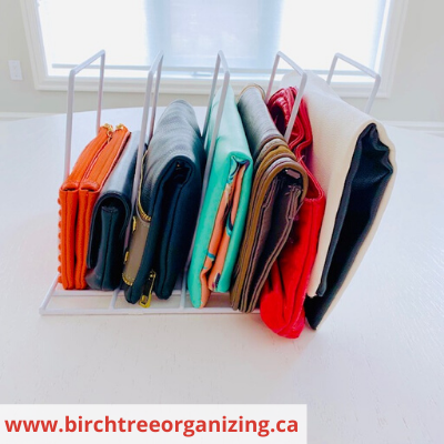 Canva Clutches - ORGANIZING FAVOURITES: 15 WAYS TO ORGANIZE WITH BAKEWARE RACKS