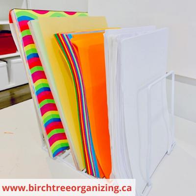 Canva craft paper - ORGANIZING FAVOURITES: 15 WAYS TO ORGANIZE WITH BAKEWARE RACKS
