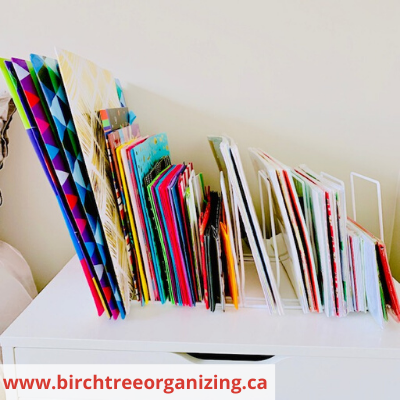 Canva gift bags boxes and tissue - ORGANIZING FAVOURITES: 15 WAYS TO ORGANIZE WITH BAKEWARE RACKS