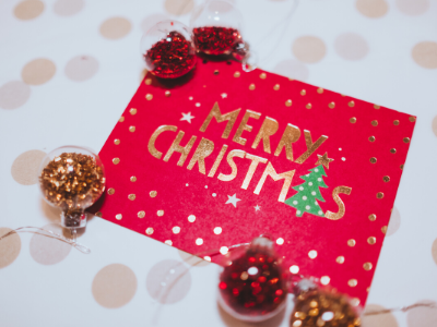 Canva Merry Christmas - 13 EASY TIPS FOR A STRESS-FREE CHRISTMAS MORNING