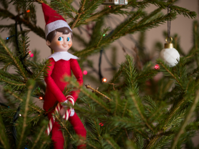 Canva elf on the shelf - 13 EASY TIPS FOR A STRESS-FREE CHRISTMAS MORNING