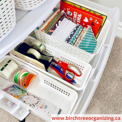 Canva top drawer - HOW TO MAKE A BUDGET-FRIENDLY GIFT WRAP CART