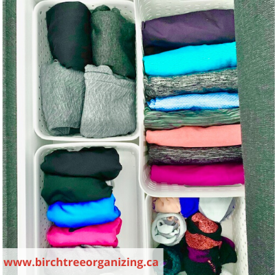 Canva baskets for clothes organization - ORGANIZING FAVOURITES: 20 WAYS TO GET ORGANIZED WITH BASKETS