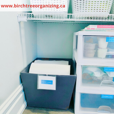 canva baskets for paper towel storage - ORGANIZING FAVOURITES: 20 WAYS TO GET ORGANIZED WITH BASKETS