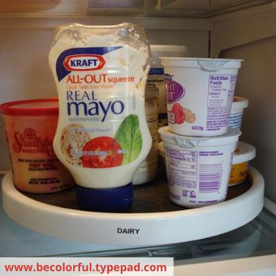 Canva fridge - ORGANIZING FAVOURITES: 16 WAYS TO ORGANIZE WITH TURNTABLES