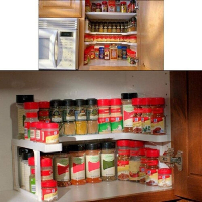 Canva Spicy Shelf - 26 EASY WAYS TO ORGANIZE YOUR SPICES