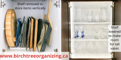 Canva adjust shelves - ORGANIZING FAVOURITES: NO-COST ORGANIZING IDEAS USING WHAT YOU HAVE