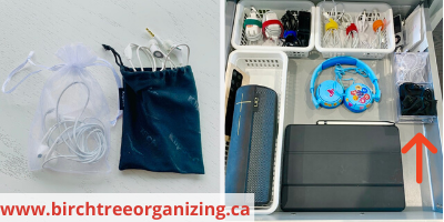 Canva mesh bags - ORGANIZING FAVOURITES: NO-COST ORGANIZING IDEAS USING WHAT YOU HAVE