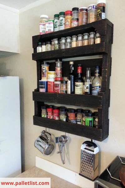 Canva pallet - 26 EASY WAYS TO ORGANIZE YOUR SPICES