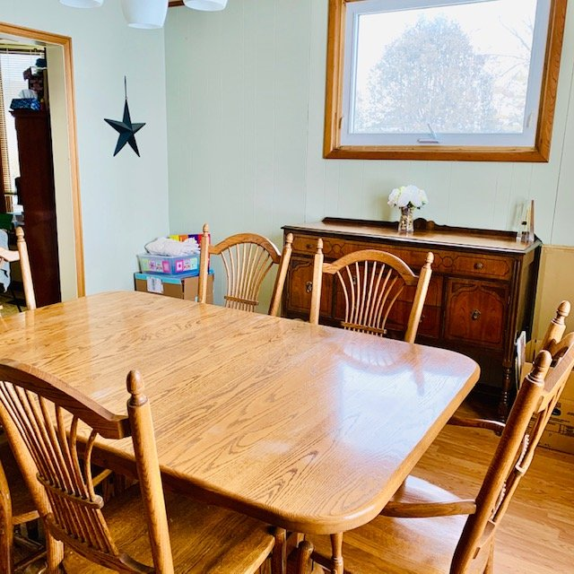 towards kitchen after - DINING ROOM