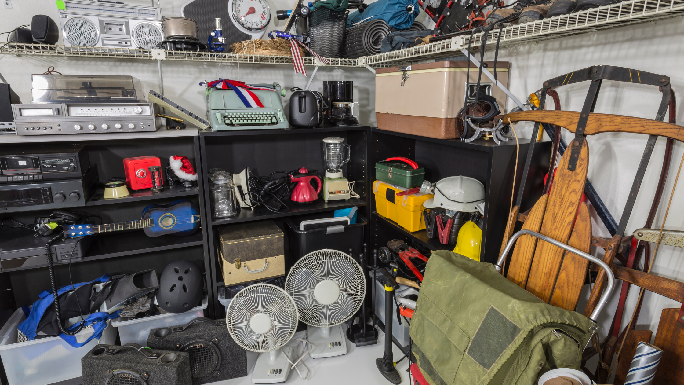 "Decluttering ""I might need it someday"" clutter"