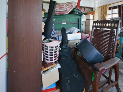 """Cluttered room - HOW TO DEAL WITH  """"SOMEDAY"""" CLUTTER"""