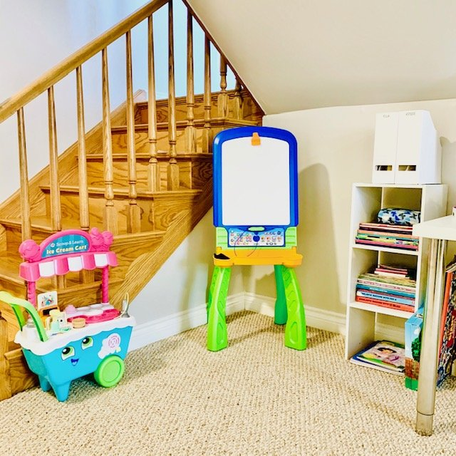Corner after - PLAYROOM