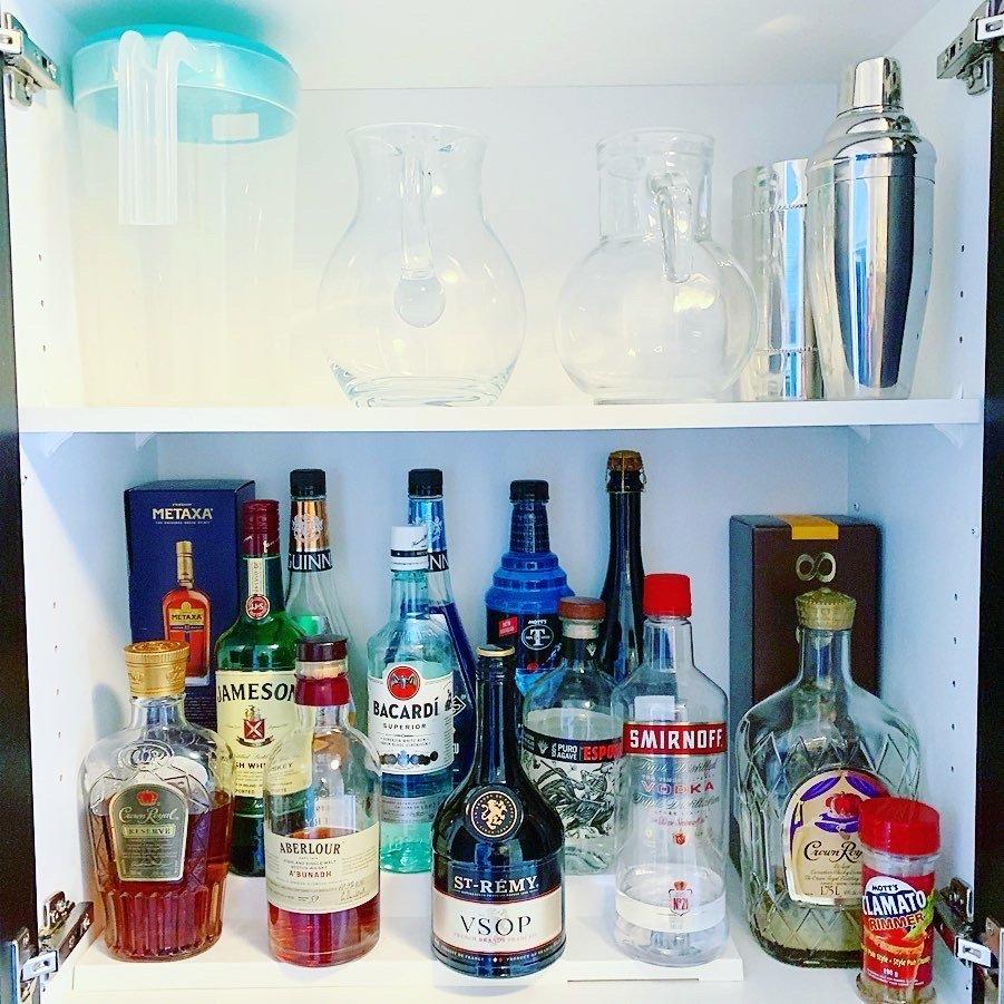 Liquor after - BAR & SERVING AREA