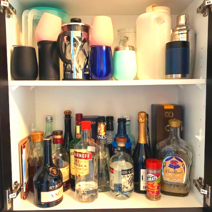 Liquor before - BAR & SERVING AREA