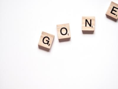 gone - OVERCOMING DECLUTTERING GUILT