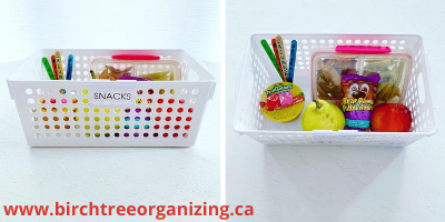 Canva snack basket - 24 Tips & Free Printables To Get Back-To-School Ready