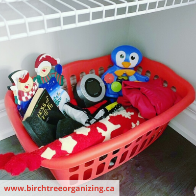 donation basket - 7 SIMPLE HABITS TO STAY CLUTTER-FREE