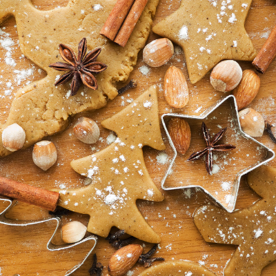 baking - 10 Things To Do NOW To Prepare For The Holidays (& FREE Holiday Planning Printables)