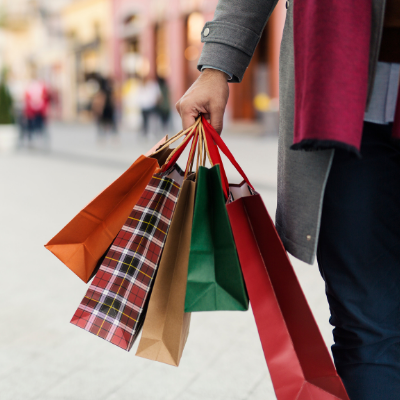 shopping - 10 Things To Do NOW To Prepare For The Holidays (& FREE Holiday Planning Printables)