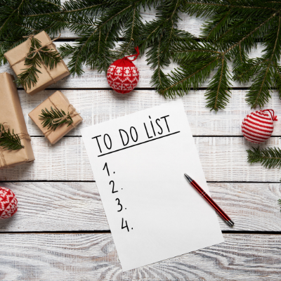 to do list - 10 Things To Do NOW To Prepare For The Holidays (& FREE Holiday Planning Printables)