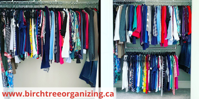 double hanging rod - 12 Easy Tips To Maximize Closet Space