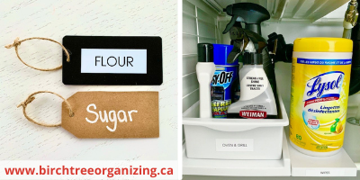 Canva labels - TOP 10 FAVOURITE KITCHEN ORGANIZING PRODUCTS