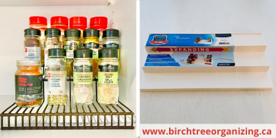 Canva tiered risers - TOP 10 FAVOURITE KITCHEN ORGANIZING PRODUCTS