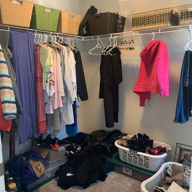 Middle of closet before rotated - Projects