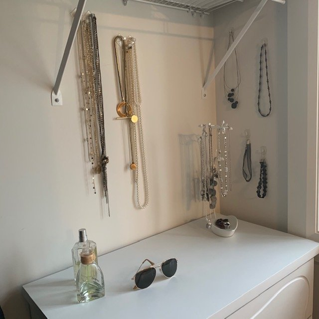 Necklaces AFTER - Principal Closet Before and After Pictures