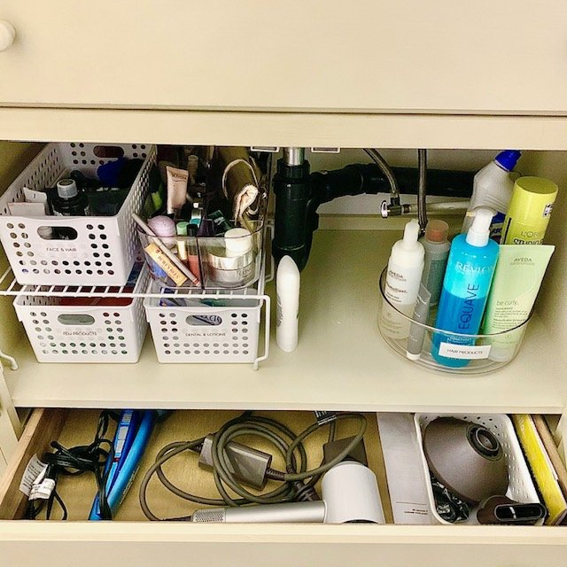cabinet AFTER - Bathroom Cabinet Before and After Pictures