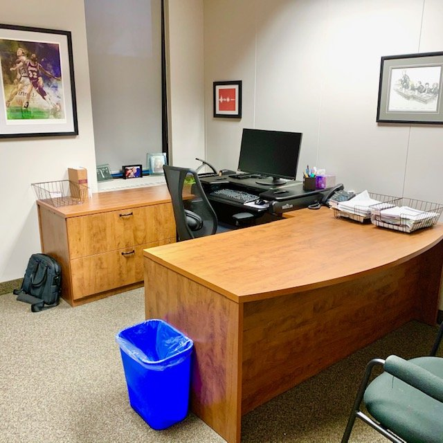 After whole desk - Office Desk and Filing Before and After Pictures