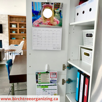 Canva cupboard - Organize Your Busy Family With A Home Command Centre