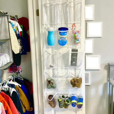 door canva after - BABY REACH-IN CLOSET BEFORE AND AFTER PICTURES