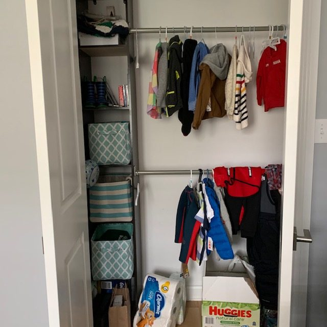 full before rotated - BABY REACH-IN CLOSET BEFORE AND AFTER PICTURES