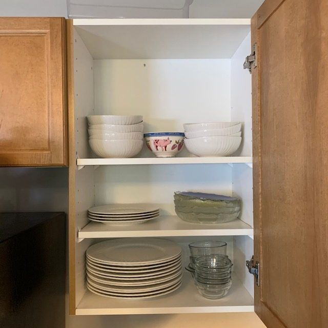 Before dishes 1 rotated - SMALL KITCHEN ORGANIZATION BEFORE AND AFTER PICTURES