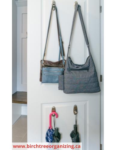Canva CH umbrellas - Fast & Easy Back of Cabinet & Door Storage Ideas