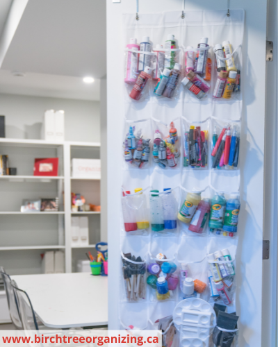 Canva craft supplies - Fast & Easy Back of Cabinet & Door Storage Ideas